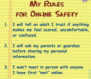 Làm rõ quy tắc khi trẻ sử dụng Internet