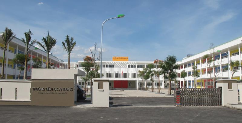 Trường Tiểu học công lập quận Hà Đông, An Hưng (Ảnh: Anhung.com.vn)