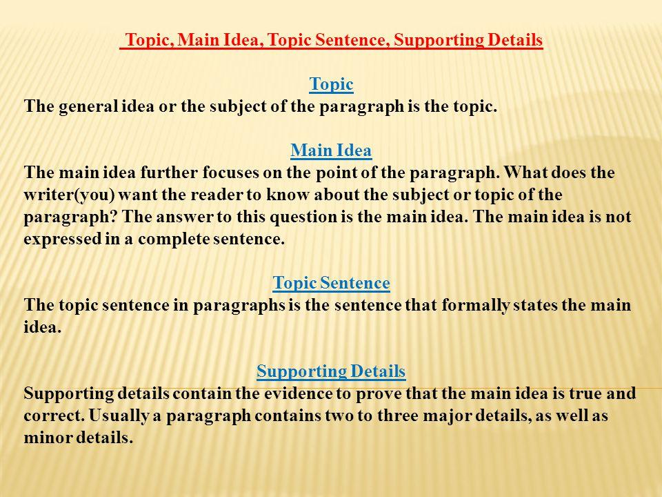 Chi tiết về phương pháp đọc hiểu - Phần 7: Tìm ý chính