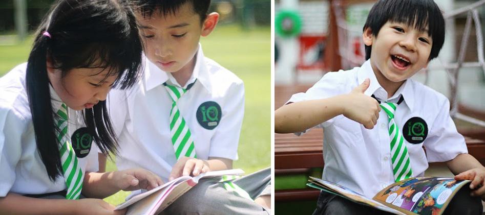 Thông tin về trường liên cấp IQ School