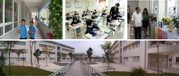 Thông tin về trường Phổ thông Song ngữ Liên cấp Wellspring
