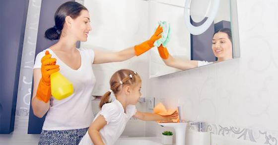 Hướng dẫn chi tiết các bước dạy con làm việc nhà (Ảnh: Better Living Products)