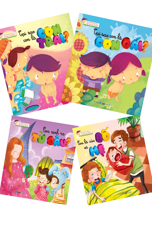 Bộ sách Giáo dục giới tính cho trẻ nhỏ của Công ty sách Đông A