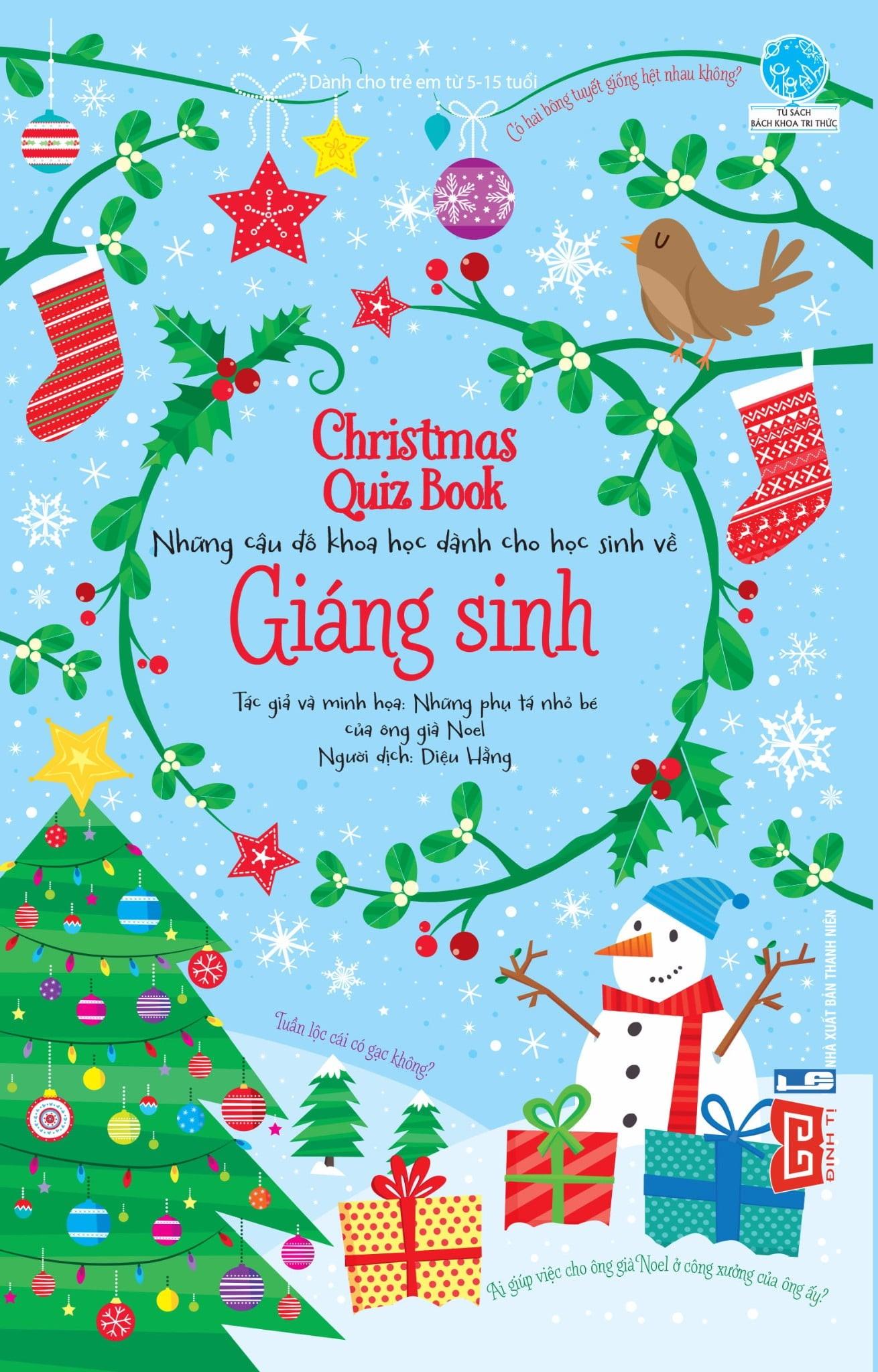 Sách Giáng sinh siêu đáng yêu cho bé (Ảnh: Fahasa)