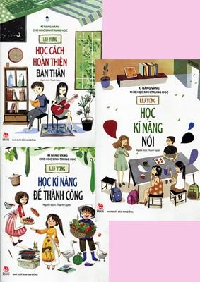Bộ sách Những kỹ năng vàng cho học sinh trung học (Ảnh: Fahasa)