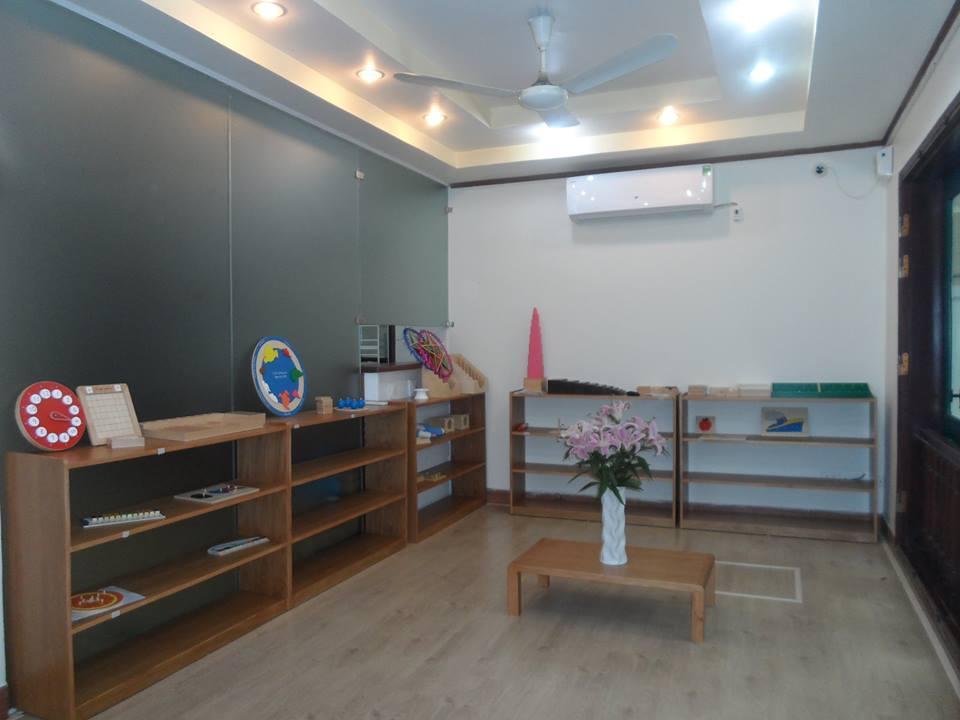 Cơ sở vật chất trường mầm non FlyKids – Bé Biết Bay tại quận Hoàng Mai, Hà Nội (Ảnh: website trường)
