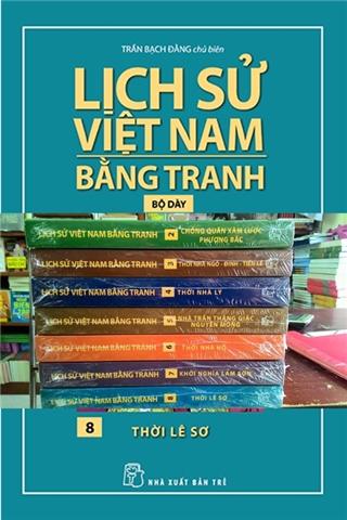 Bộ Lịch sử Việt Nam bằng tranh - NXB Trẻ (Ảnh: Gia Định Book)