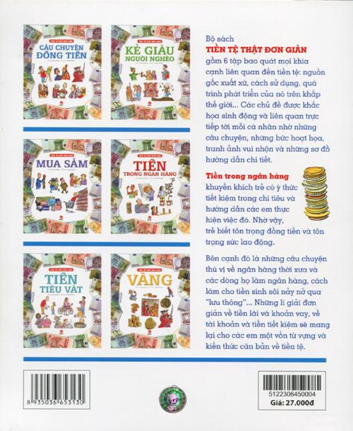 Bộ sách Tiền tệ thật đơn giản là một trong những cẩm nang giúp bạn dạy con về tiền.