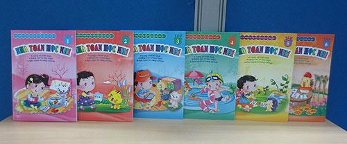 Chọn sách hay tiếng Việt cho trẻ 6-7 tuổi - Nhà toán học nhí (Ảnh: Công ty Sách Gia Định)