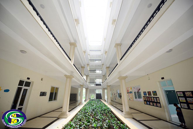 Cơ sở vật chất trường quốc tế Global, Cầu Giấy, Hà Nội (Ảnh: website nhà trường)