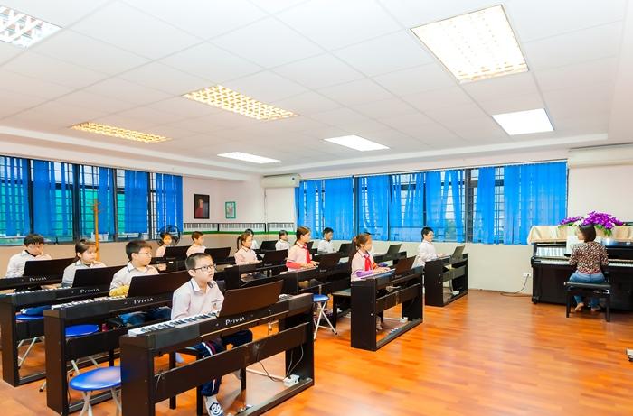 Cơ sở vật chất trường Ngôi sao Hà Nội (Ảnh: website nhà trường)