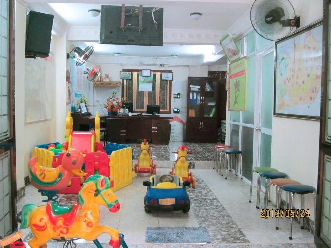Cơ sở vật chất trường mầm non Lâm Nhi tại quận Ba Đình, Hà Nội (Ảnh: website trường)