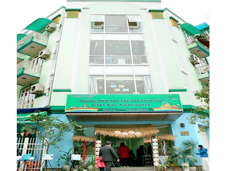 Cơ sở vật chất trường mầm non Globe Kids tại quận Cầu Giấy, Hà Nội (Ảnh: MarryBaby)