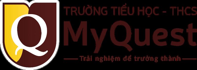 Logo trường MyQuest - trường Tiểu học, THCS tư thục chất lượng cao, cơ sở thực hành của Đại học Sư Phạm Hà Nội, địa chỉ tại quận Cầu Giấy (Ảnh: website nhà trường)