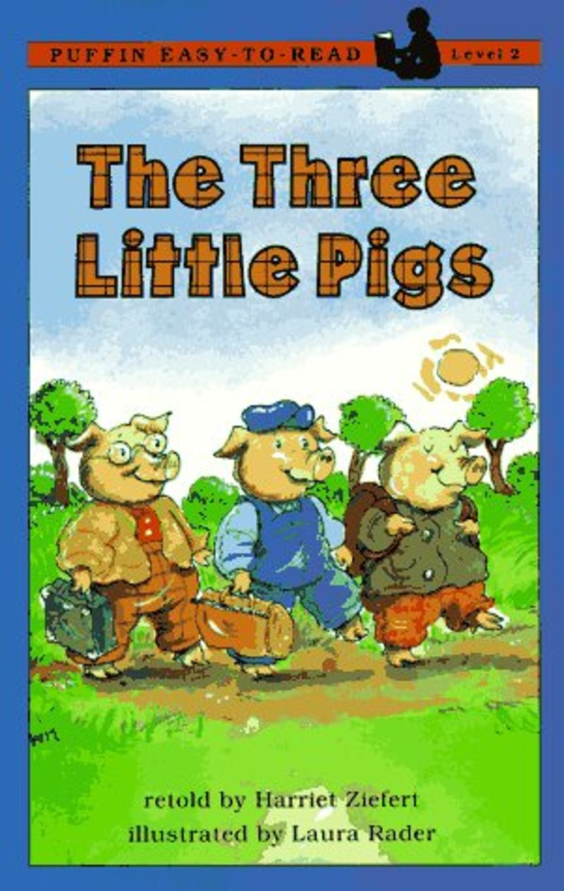 The Three Little Pigs (Harriet Ziefert) - sách tiếng Anh hay cho trẻ 3-5 tuổi (Ảnh: Scholastic)