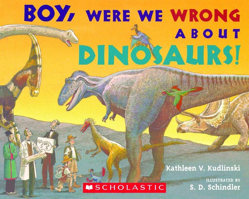 Sách về khủng long (Ảnh: Scholastic)