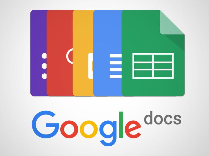 Google Docs - công cụ online giúp cải thiện kỹ năng viết (Ảnh: Sketch App Sources)