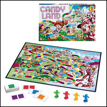 Candy Land - 10 trò chơi board games kinh điển được trẻ em Mỹ mê mẩn (Ảnh: Teacher Vision)