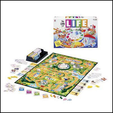 Game of Life - 10 trò chơi board games kinh điển được trẻ em Mỹ mê mẩn (Ảnh: Teacher Vision)