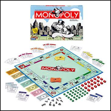 Cờ tỷ phú Monoply - 10 trò chơi board games kinh điển được trẻ em Mỹ mê mẩn (Ảnh: Teacher Vision)