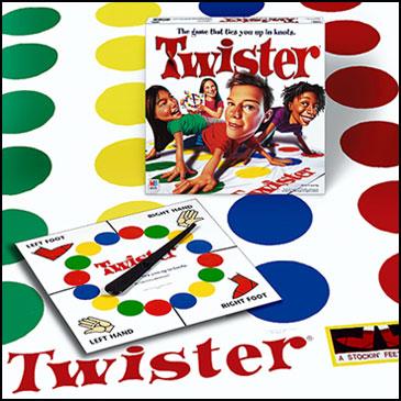 Twister - 10 trò chơi board games kinh điển được trẻ em Mỹ mê mẩn (Ảnh: Teacher Vision)