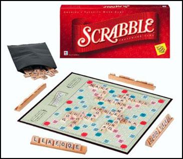 Scrabble - 10 trò chơi board games kinh điển được trẻ em Mỹ mê mẩn (Ảnh: Teacher Vision)
