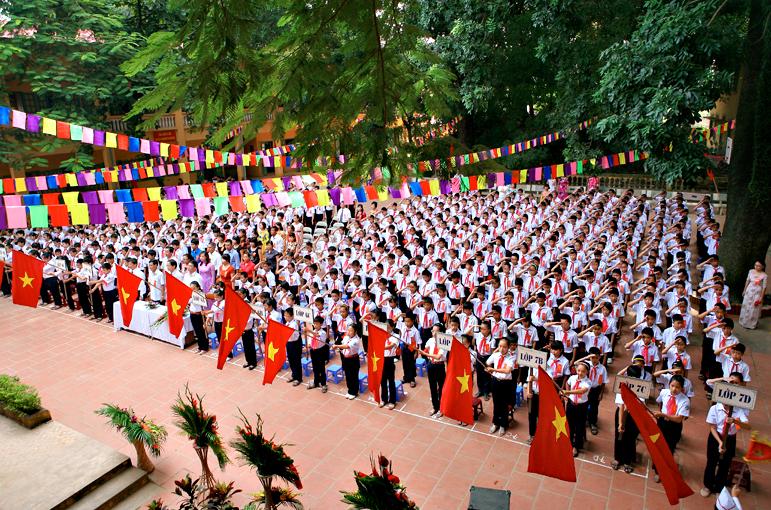 Thanh Trì - Trường THCS công lập quận Hoàng Mai - Hà Nội (Ảnh: website nhà trường)