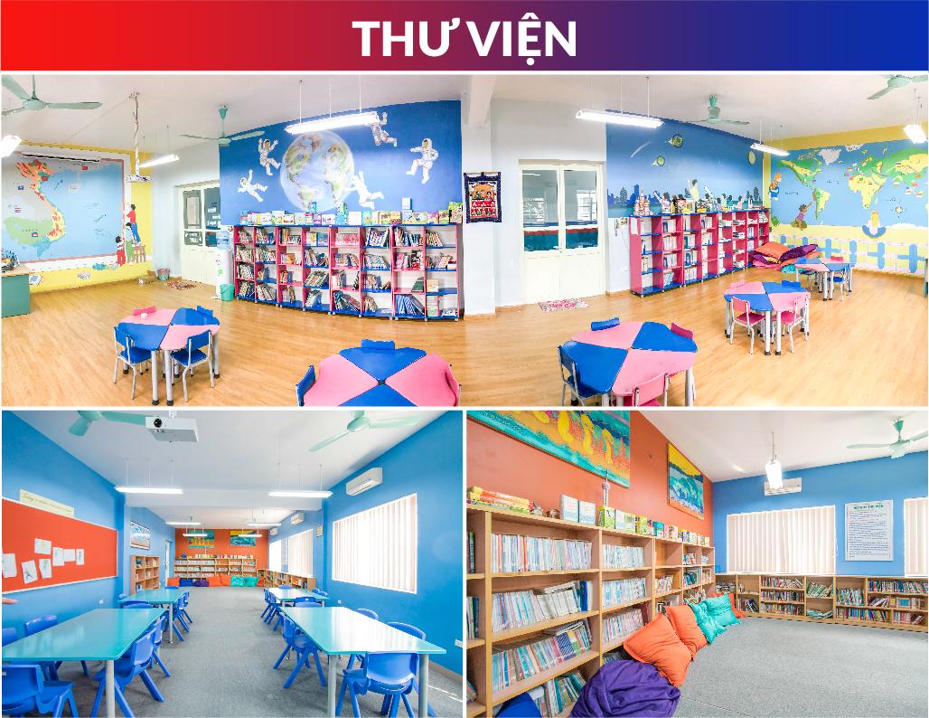 Cơ sở vật chất trường quốc tế liên cấp Việt Úc tại quận Nam Từ Liêm, Hà Nội (Ảnh: website trường)