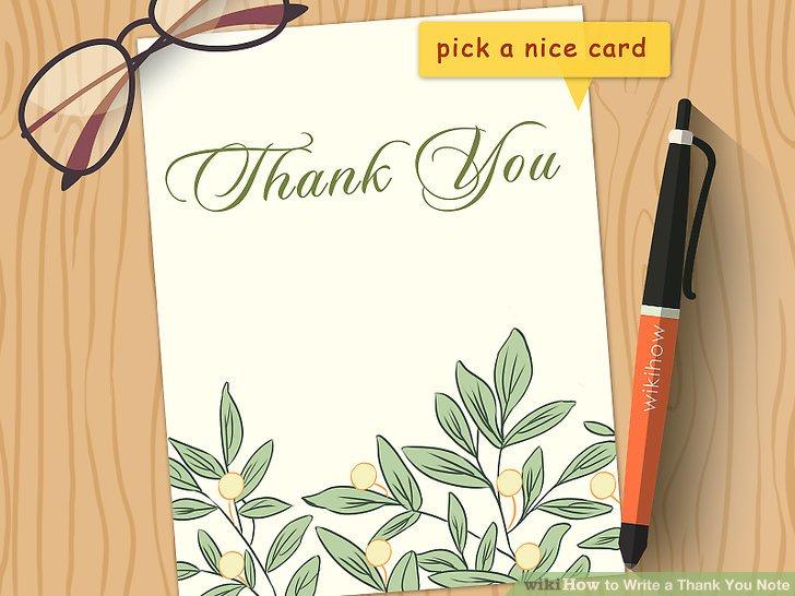 Dạy trẻ cách viết thư cảm ơn (Ảnh: wikiHow)