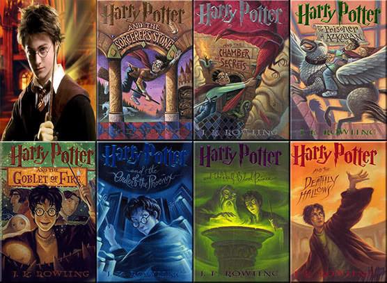Bộ sách Harry Potter - cậu bé phù thuỷ (Ảnh: Zing News)