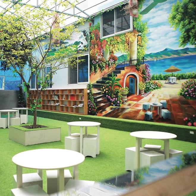 Cơ sở vật chất trường phổ thông liên cấp Đa Trí Tuệ - MIS bao gồm các cấp Tiểu học, THCS, THPT tại quận Cầu Giấy - Hà Nội (Ảnh: website trường via Zing News)