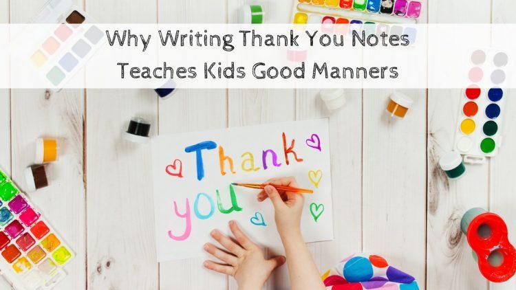 Dạy trẻ cách viết thư cảm ơn