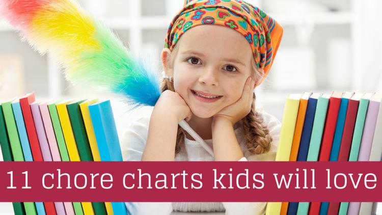 Tham khảo ý tưởng tự lập bảng phân công việc nhà cho trẻ