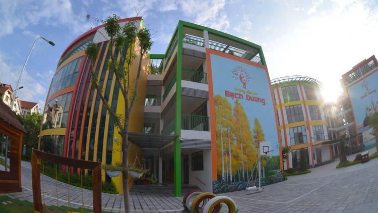 Trường Mầm non, Tiểu học Bạch Dương (Hoàng Mai, HN)
