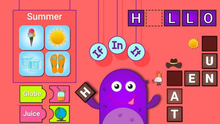 7 trò chơi với từ tiếng Anh cho bé