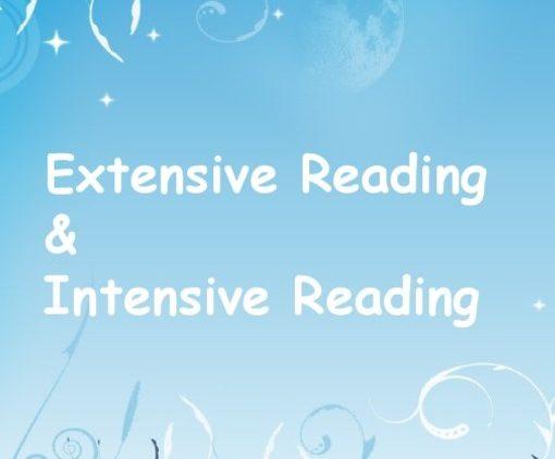 Mọi điều cần biết về 2 phương pháp đọc: Intensive reading và Extensive reading