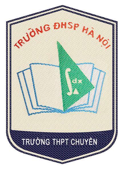 Logo trường THPT chuyên Đại học Sư Phạm Hà Nội, quận Cầu Giấy (Ảnh: ETC Group)
