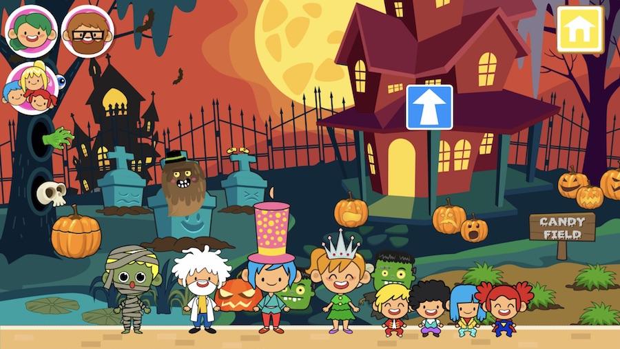 5 ứng dụng Halloween vui nhộn và không quá đáng sợ (Ảnh: Cool Mom Tech)