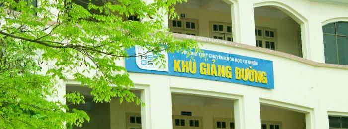 Cơ sở vật chất trường THPT Chuyên Khoa học Tự nhiên, Thanh Xuân, Hà Nội (Ảnh: website nhà trường)