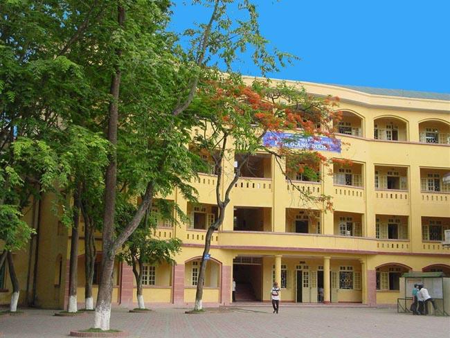 Cơ sở vật chất trường THPT Chuyên Khoa học Tự nhiên, quận Thanh Xuân, Hà Nội (Ảnh: website Đại học Khoa học Tự nhiên)