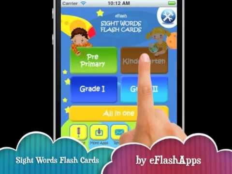 Thầy giáo Mỹ chia sẻ 5 ứng dụng giúp trẻ học Sight word (Ảnh: YouTube)