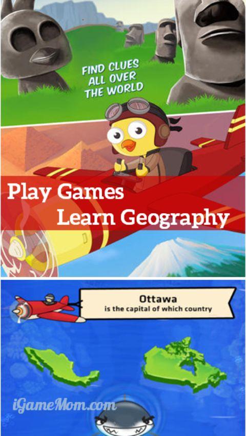 8 ứng dụng dạy trẻ môn địa lý (Ảnh: iGameMom)