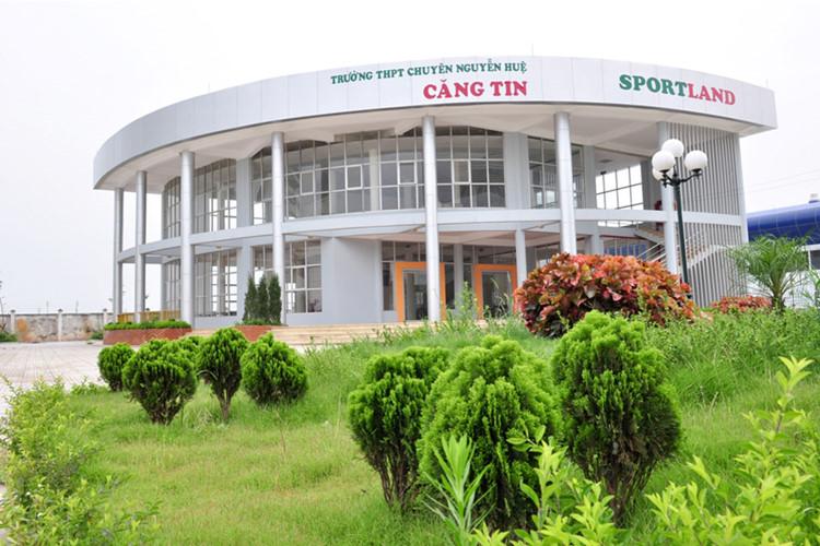 Cơ sở vật chất trường THPT chuyên Nguyễn Huệ - Hà Đông (Ảnh: Kiến thức)