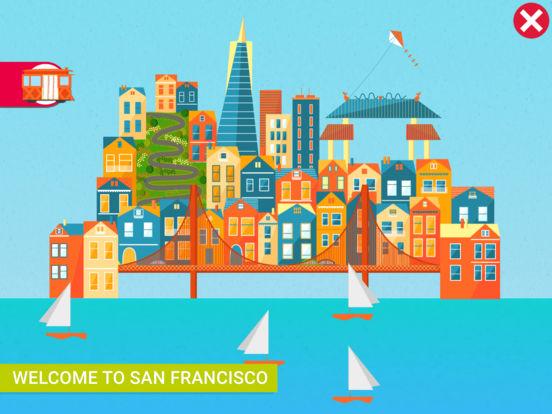 8 ứng dụng dạy trẻ môn địa lý (Ảnh: App Sliced)