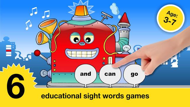 Thầy giáo Mỹ chia sẻ 5 ứng dụng giúp trẻ học Sight word (Ảnh: iTunes)