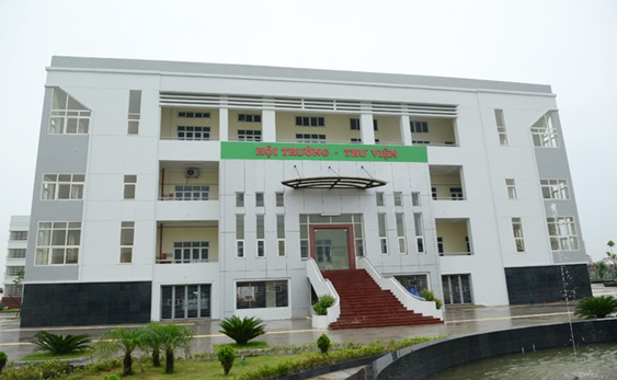 Cơ sở vật chất trường THPT Chuyên Nguyễn Huệ - Hà Đông (Ảnh: website nhà trường via Kenh14)