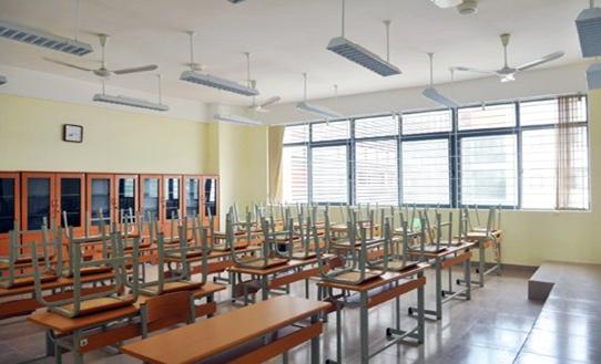 Cơ sở vật chất Trường THPT Chuyên Hà Nội Amsterdam (Ảnh: website nhà trường via Kenh14)