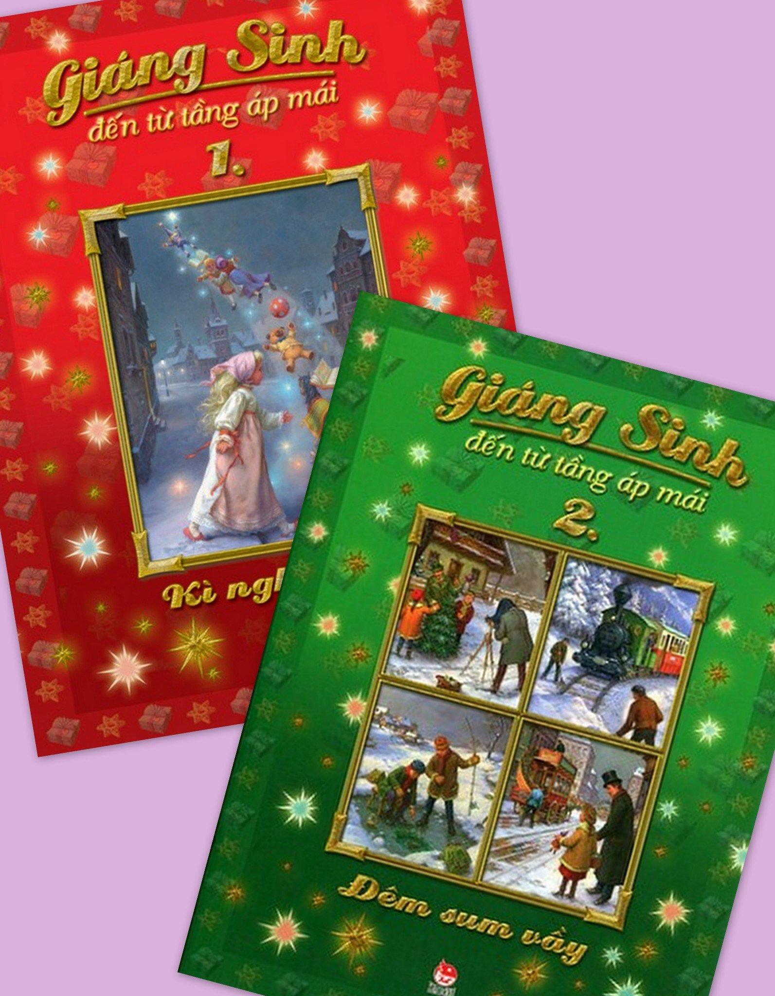 Sách Giáng sinh siêu đáng yêu cho bé (Ảnh: Bookdi)
