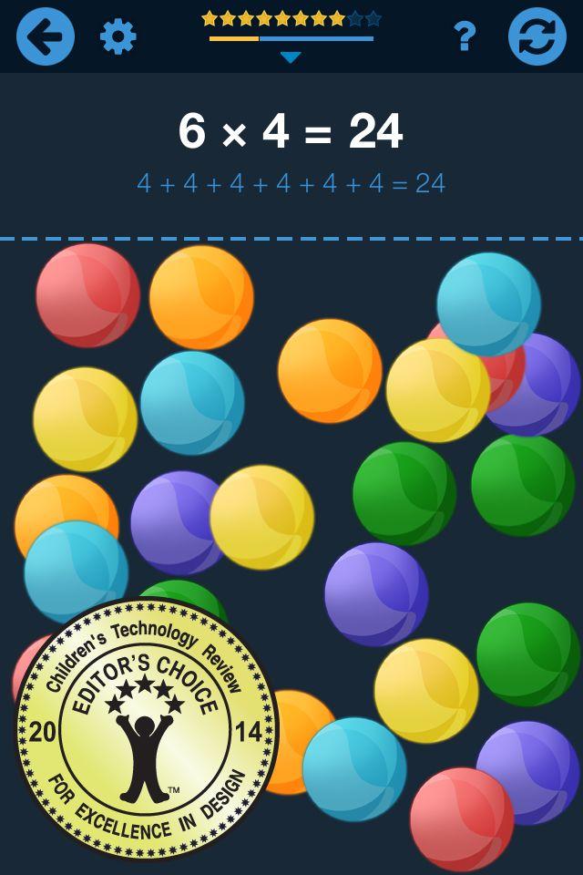 10 ứng dụng toán dạy trẻ các khái niệm số (Ảnh: Pinterest)