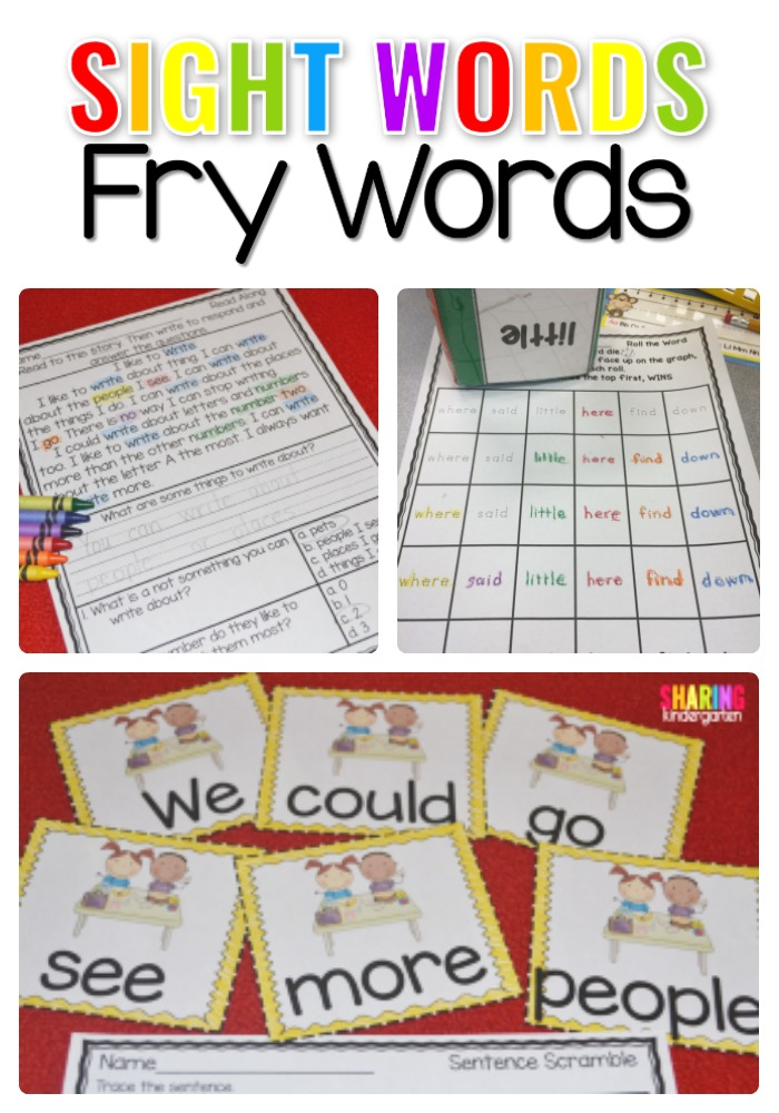 Danh sách từ tiếng Anh dùng nhiều nhất Fry words